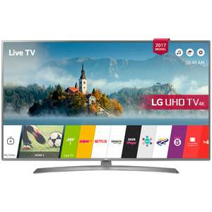 """LG 55UJ670V LED HDR 4K Ultra HD Smart TV, 55"""" with Freeview Play £619 from John Lewis"""