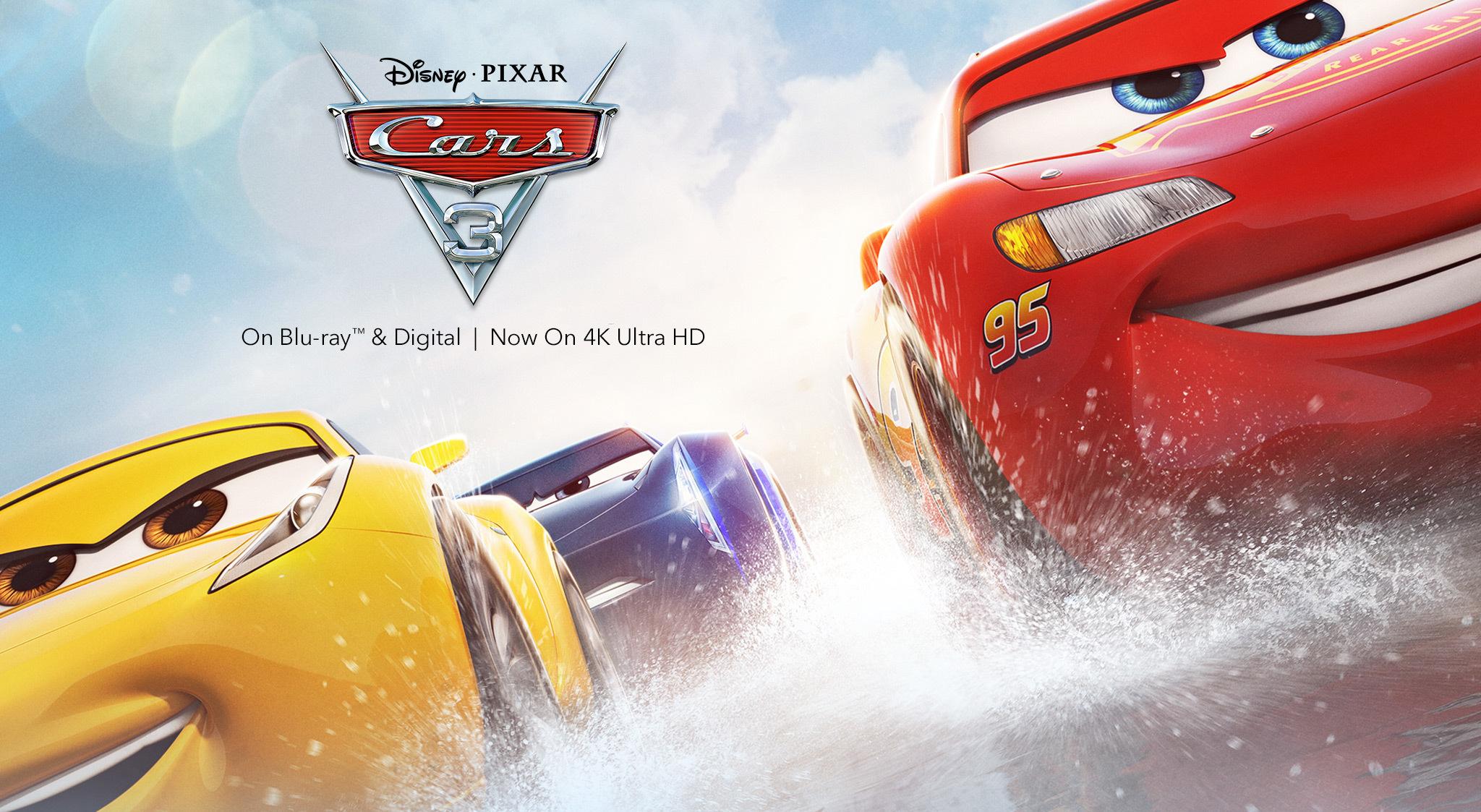 Cars 3 - HD film rental £1.99 for Amazon Prime members