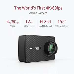 YI 4K Plus Sports Action Camera Ultra HD 4K/60fps £189.99 Sold by YI Official Store UK and Fulfilled by Amazon lightning deal