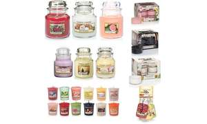 Mega 57 Piece Yankee Candle Bundle Deal Huge Savings From RRP £50.99 delivered @ Groupon