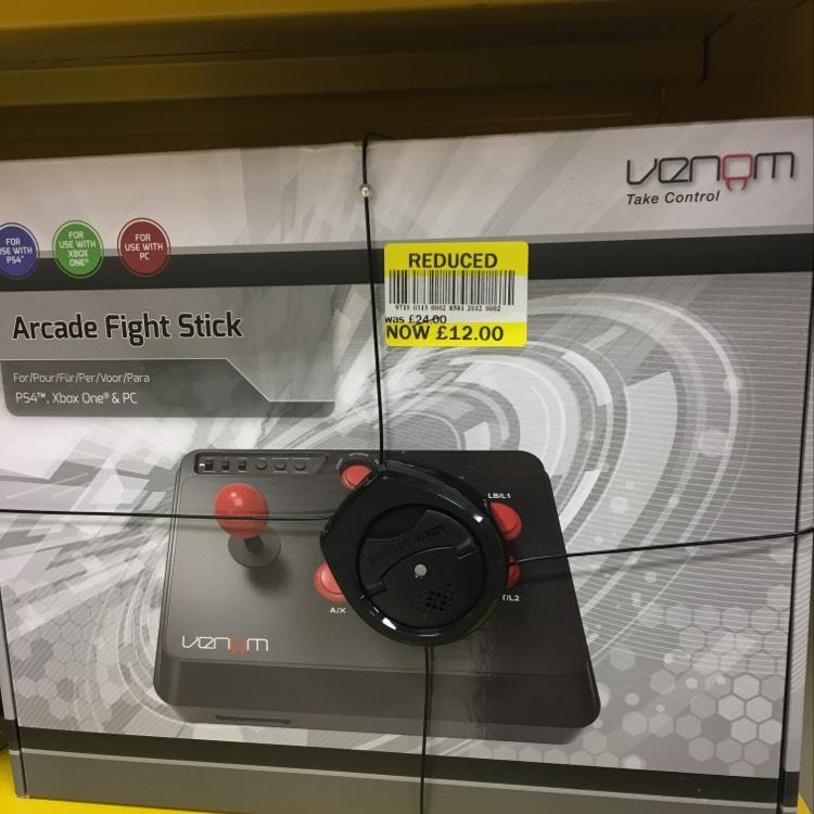 Venom arcade fight stick Tesco Lurgan  £12.00