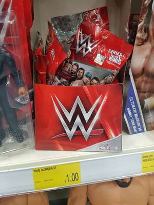 WWE blind bag mini figures £1 @ B&M - hunts cross liverpool