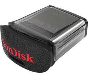 SANDISK Ultra Fit USB 3.0 Memory Stick - 128 GB, Black £34.99 CURRYS/PC WORLD