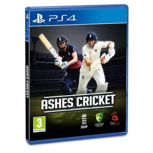 Ashes cricket PS4 and Xbox One £16.99 online and in-store at Smyths