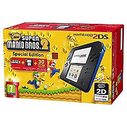 Nintendo 2DS with Super Mario Bros 2 / Mario Kart 7 / Tomodachi Life - £65.98 @ Tesco