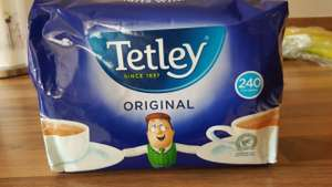 Tetley 240 packs now £3 at morrisons