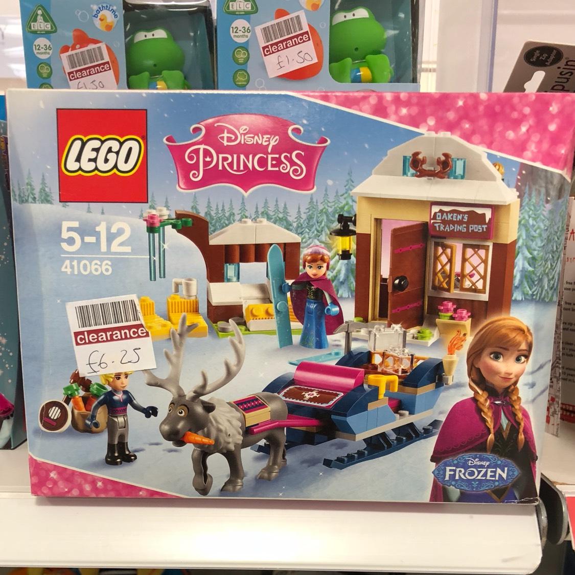 Lego disney anna & kristoff sleigh adventure £6.25 boots crayford