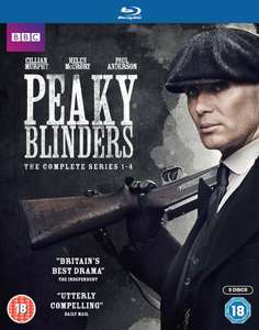 Peaky Blinders Series 1-4 Boxset Blu-ray inc. delivery £35.99 @ Zavvi