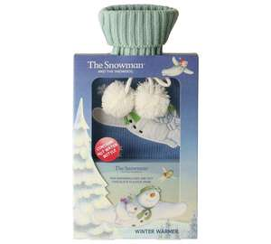 Snowman Winter Warmer Gift Set (Hot water bottle, Hot Chocolate and Marshmallows) £3.99 @ Argos