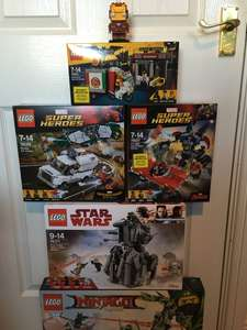 Another round of Tesco clearance. Various LEGO 50% off.