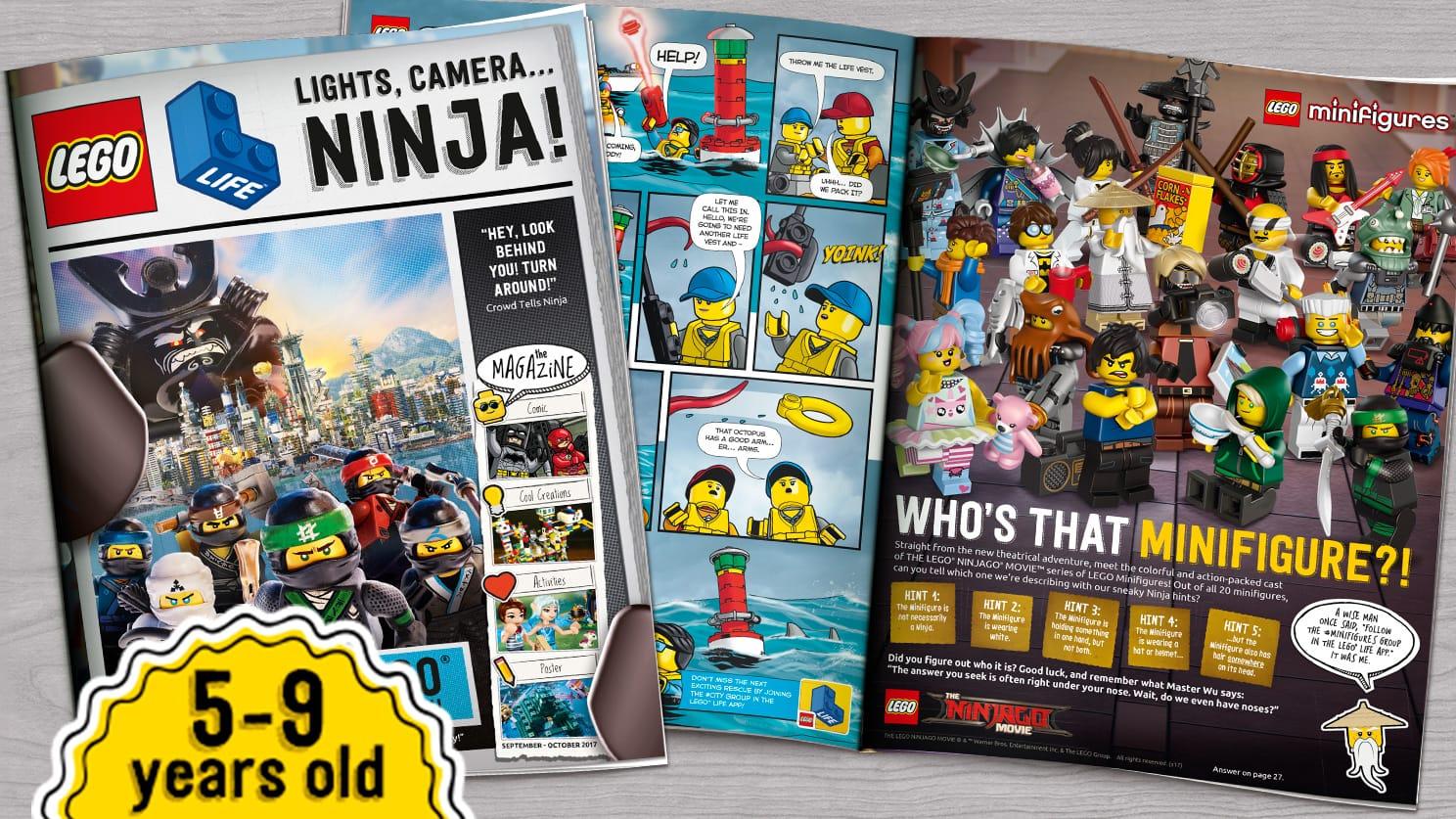 Free LEGO® LIFE MAGAZINE!