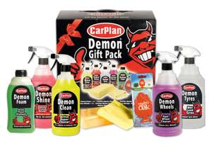 Carplan Demon 8pc Valeting Gift Pack - £13.94 delivered @ Carparts4less