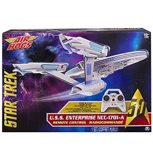 Be the Captain of your own Enterprise: Air Hogs - 6027406 - Star Trek USS Enterprise - NCC1701-A - Remote Control - Light and Sound  £51.79 Sold by Collectors Kingdom and Fulfilled by Amazon