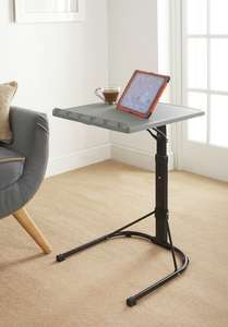 Spaceways Adjustable Table £14.99 @ B&M Ideal for laptops or tablets etc, easily stored.