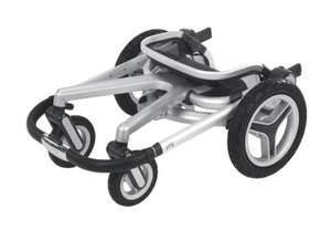 Silver Cross Surf 2 Seat, Chassis & Carrycot £383.29 @ Boots