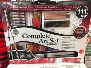 Daler Rowney 111 pcs Art set - RRP  £102 now £25.50 @ Cass Art