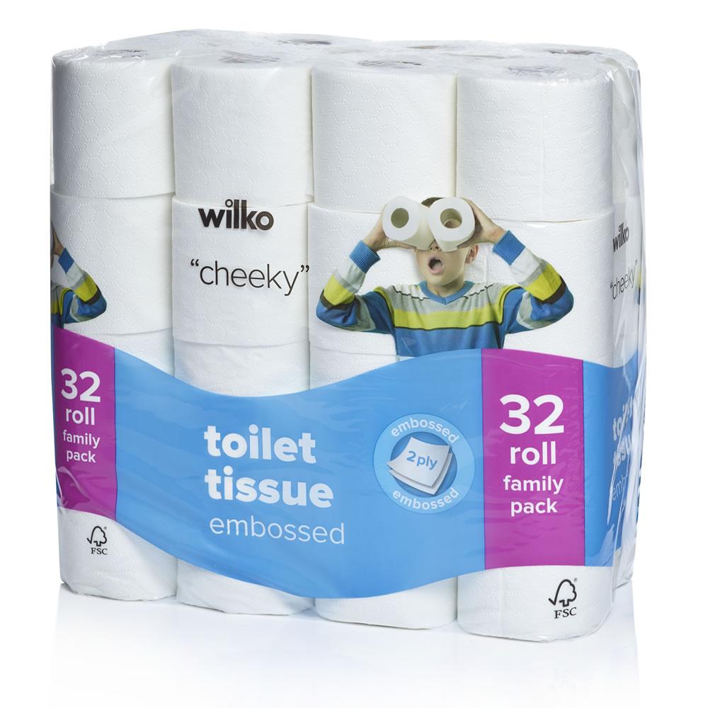 Cheapest toilet tissue around 32pack £5 @ Wilko