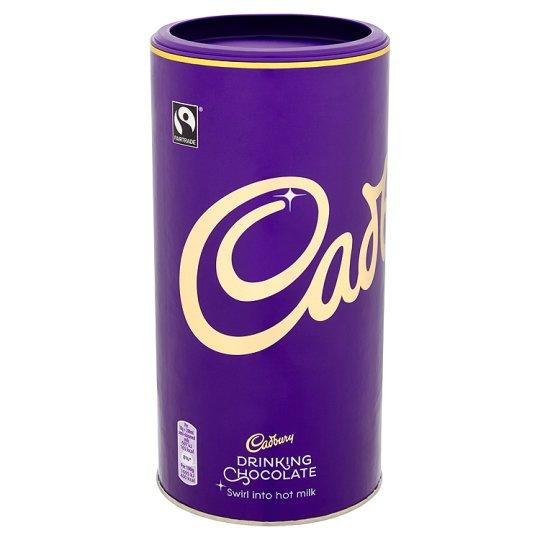 Cadbury fair trade drinking chocolate 750g £3 @ Tesco