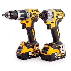 Dewalt DCK226P2T Combi Drill and Impact driver set with 2x5ma batteries £250 @ Amazon