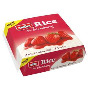 Muller Rice 4 packs - £1 @ Co-op