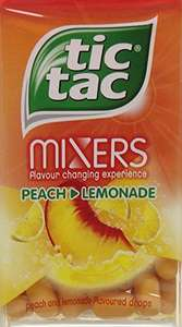 Tic Tac Mixers Peach Lemonade 49 g (Pack of 24) £9.41 Prime £12.40 delivered @ Amazon