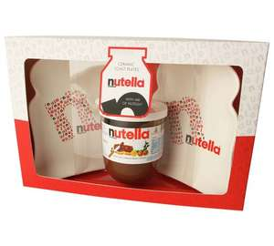 Nutella Toast Plates and 200g Jar Set - £4.49 at Argos