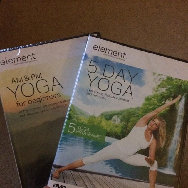 Various Yoga DVDs, £1 @Poundland