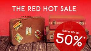 Hotels up to 50% off in hotels.com red hot sale