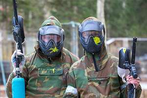 Paintballing for five people! £5 with O2 Priority