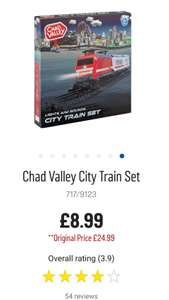 Chad Valley City Train Set - Argos - £8.99