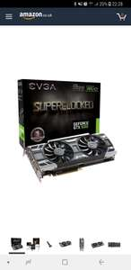 Evga Geforce GTX 1080 SC Gaming ACX 3.0 GeForce GTX1080 Graphic Card 8192 MB