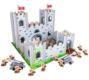 Chad valley wood castle playset Was £49.99 now £17.99 @ argos