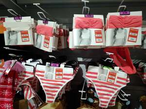 POUNDSTRETCHER-Cheap underwear and candles from 49p! Dare you to buy for Valentines Day!