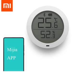Original Xiaomi Mijia Bluetooth Temperature Smart Humidity Sensor LCD Screen Digital Thermometer Moisture Meter Mi Home APP £11.06 Ali Express..(10.50 after TCB)