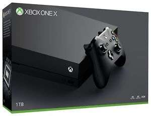 Microsoft Xbox One X 1TB 4K Gaming Console - Black - £384.74 From Argos on eBay - Seller refurbished - Using code PAYDAY10