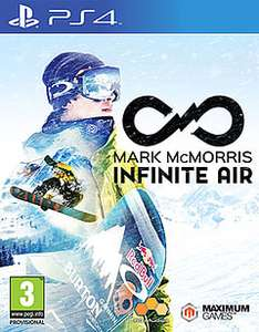 Mark McMorris Infinite Air PS4 @ GAME £4.99