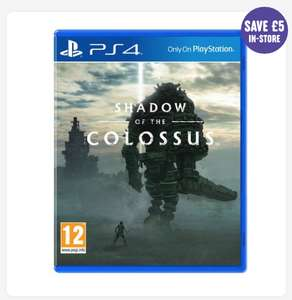 [PS4] Shadow of the Colossus - £18.99 (C&C) - Smyths