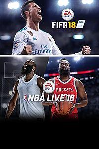 FIFA 18 & NBA LIVE 18: The One Edition Bundle - £22.78 - Microsoft Store (US)