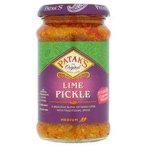 Pataks lime pickle £1 down from £1.99 @ Tesco