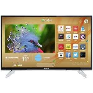 Hitachi 43 Inch 4K Ultra HD Freeview Smart WiFi LED TV Refurbished £229 Argos on eBay