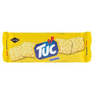 Jacobs Tuc Snack Crackers (150g) / Jacobs Tuc Cream & Chive (120g) / Sweet Chilli Flavour(120g) was £1.00 now 50p @ Asda