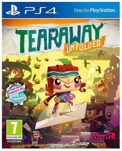 PS4 tearaway unfolded 7+ years was £19.96 now £9.96 instore\ online @ Toys r Us, free c+c