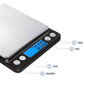 Kitchen scales with 0.1g accuracy (max 3KG) Amazon lightning deal - £6.45 Prime / £10.44 non Prime - Sold by AMIR UK and Fulfilled by Amazon