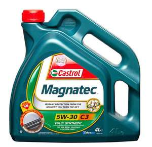 Castrol Magnatec (c3) engine oil, 5w 30, 4ltr - £20.74 delivered using code / £24.69 before code @ CarParts4Less