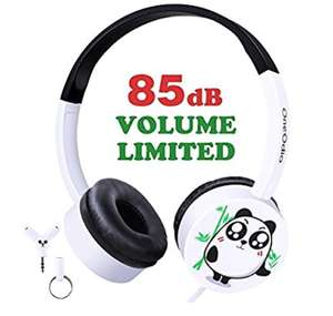 Kids over ear headphones - £9.99 Prime / £13.98 non Prime - Sold by OneOdio and Fulfilled by Amazon