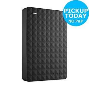Seagate Expansion USB 3.0 Desktop Drive 4TB £76.49 from Argos eBay (Using code)