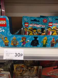 Lego Minifigures Series 17 now £0.30 at Tesco instore