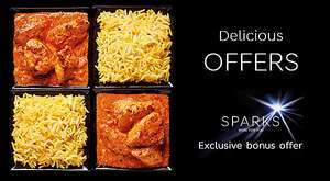 Marks & Spencer Indian meal deal 2 mains 2 sides (+ Possible Bonus Sparks Offer of Additional side) £10 Offer runs 31st Jan - 8th Feb