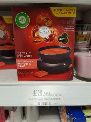 Airwick electric wax melter - £3.99 instore @ Home Bargains
