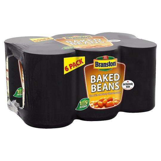 Branston Baked Beans In Tomato Sauce 6 X410g £1.90 @ Tesco